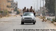 Libyen Tripolis | Kämpfer der Regierung