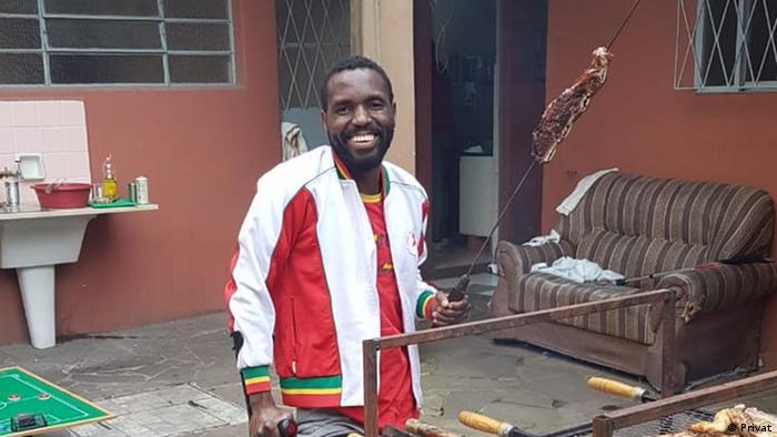 O angolano Gilberto Andrade de Casta Almeida ficou 12 dias detido