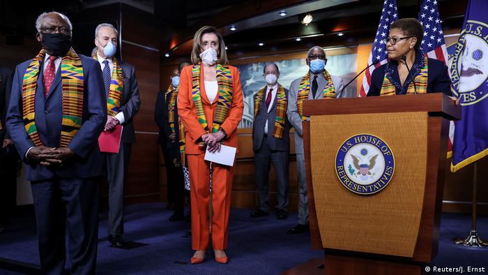USA Washington | Veranstaltung der Demokraten zur Reform der Polizei (Reuters/J. Ernst)