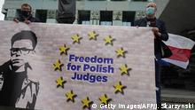Protest w obronie sędziego Igora Tulei w czerwcu 2020 r. w Warszawie