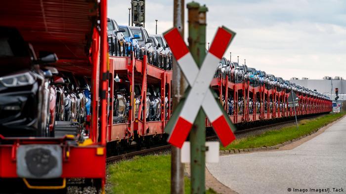 Deutschland Exporteinbruch Neuwagen