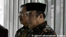 Indonesien Minister für religiöse Angelegenheiten Fachrul Razi