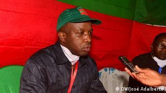 Eduardo Ndumba, deputado da UNITA no Huambo