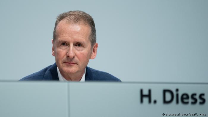 Volkswagen'in CEO'su Herbert Diess