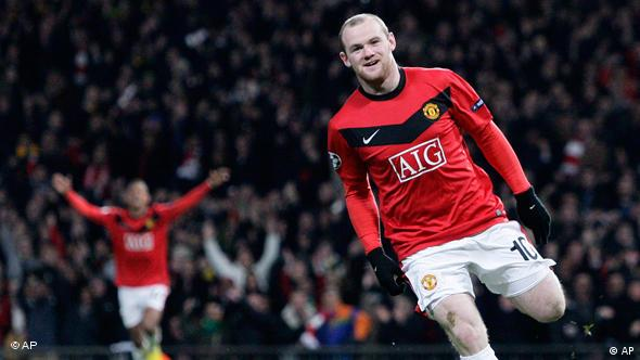 Manchester United Wayne Rooney Flash-Galerie