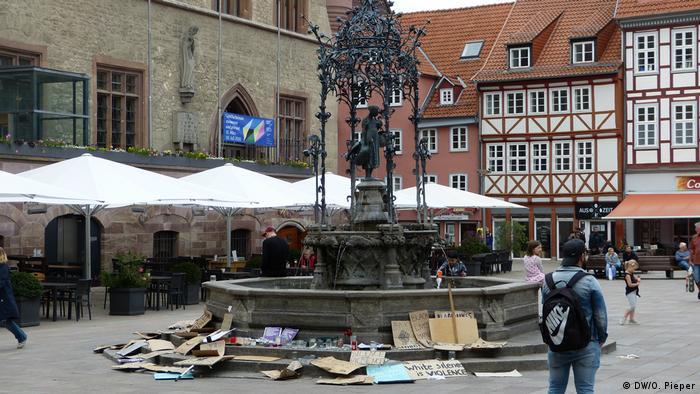 I u Getingenu je bilo protesta protiv rasizma u SAD, ali mostovi prema Iduna-centru su srušeni
