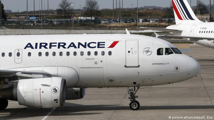 Frankreich Air-France Flugzeuge