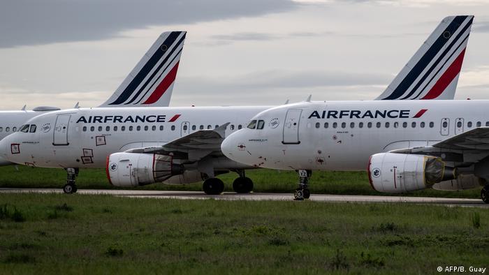 Frankreich Air-France Flugzeuge (AFP/B. Guay)