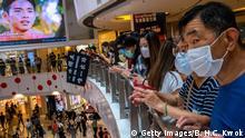 Hong Kong   Pro-Democracy Proteste