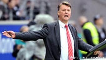 Bayern-Trainer van Gaal. Foto: picture-alliance/dpa