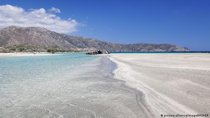 Beach of Elafonisi, Crete, Greece (picture-alliance/imageBROKER)