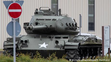 Grafenwöhr   Truppenübungsplatz der US-Armee (picture-alliance/dpa/D. Karmann)