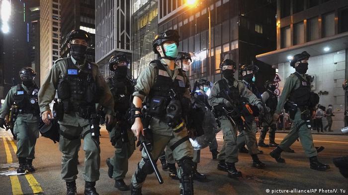 Hongkong Pro-Democracy Proteste (picture-alliance/AP Photo/V. Yu)