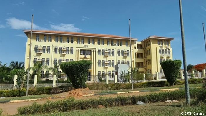 Guinea-Bissau Oberster Gerichtshof in Bissau (DW/B. Darame)