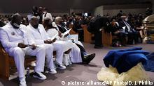 USA Houston   Beerdigung von George Floyd