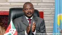 Präsident Burundis Pierre Nkurunziza