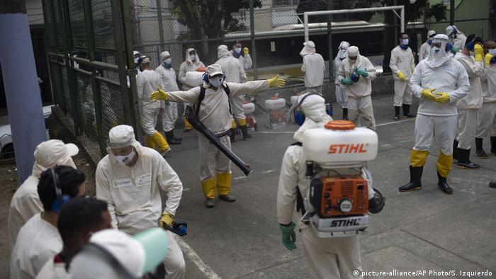 Brasilien Rio De Janeiro Coronavirus (picture-alliance/AP Photo/S. Izquierdo)