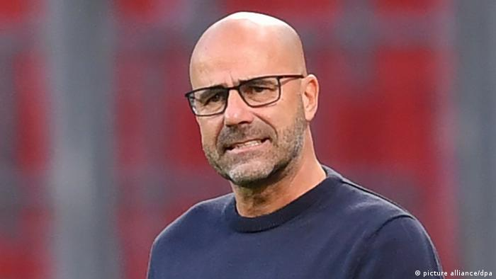 Peter Bosz is yet to win a trophy as a coach