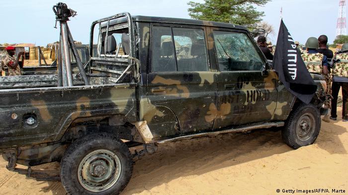Truck allegedly belonging to ISWAP