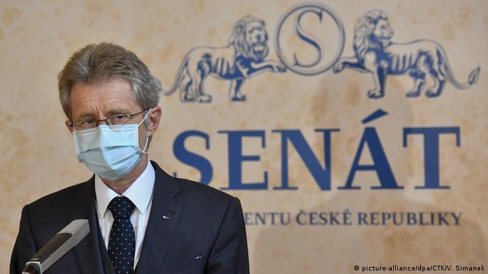 Milos Vystrcil Sprecher Senat Tschechien (picture-alliance/dpa/CTK/V. Simanek)