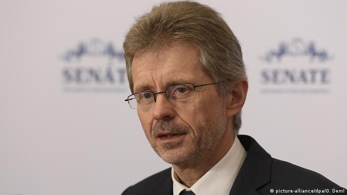 Milos Vystrcil Sprecher Senat Tschechien (picture-alliance/dpa/O. Deml)