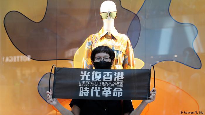 Hongkong Pro-Demokratie Demonstrationen