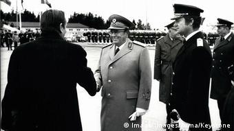 Υποδοχή στη Στοκχόλμη από τον βασιλιά και τον πρωθυπουργό της Σουηδίας