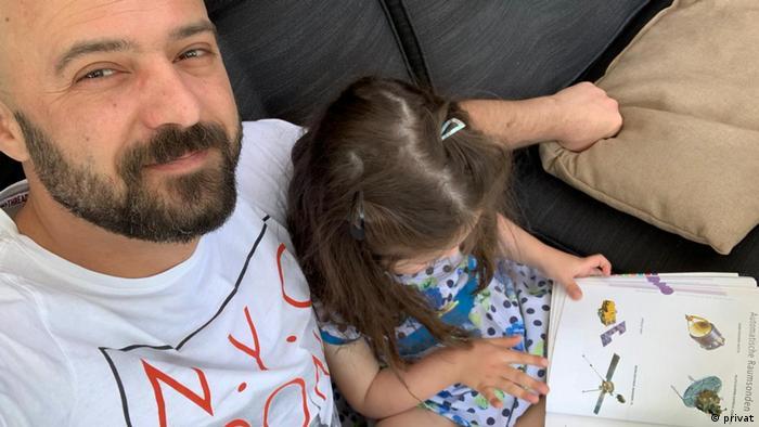 Михаил с дочкой