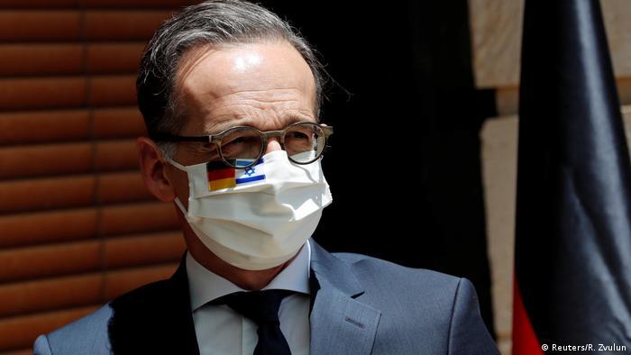 Israel Jerusalem Besuch Außenminister Heiko Maas (Reuters/R. Zvulun)