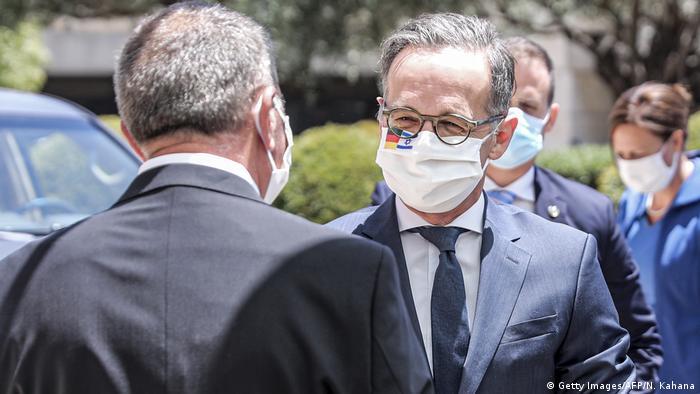 Israel Jerusalem Besuch Außenminister Heiko Maas