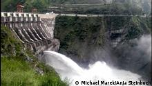 Bhutan Chukha dam Bhutan, hydropower, electricity, natural resources (Copyright: Michael Marek und Anja Steinbuch)