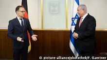 Israel Jerusalem | Heiko Maas und Benjamin Netanjahu
