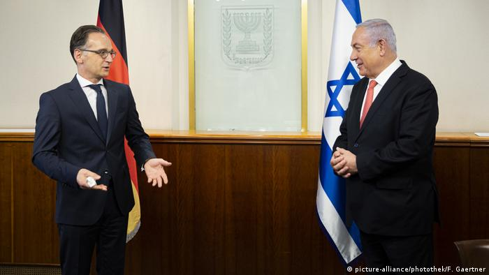 Israel Jerusalem | Heiko Maas und Benjamin Netanjahu (picture-alliance/photothek/F. Gaertner)