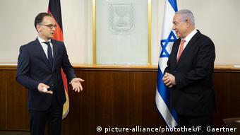 Από την πρόσφατη επίσκεψη του γερμανού υπΕξ Μάας στο Ισραήλ