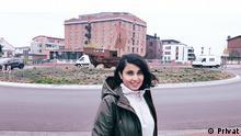 EinschränkungNur in Verbindung mit dem Lernerporträt verwenden TitelLernerporträt Bhoomi aus Indien BeschreibungPorträtfoto der Deutschlernerin Bhoomi aus Indien CopyrightPrivat