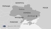 Karte - Ukraine - UK