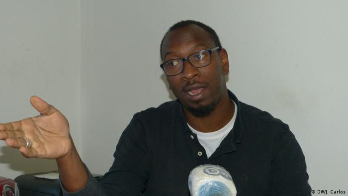Portugal Lissabon | Mamadou Ba - Mitglied der Bewegung SOS Racism (DW/J. Carlos)
