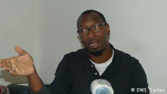 Portugal Lissabon   Mamadou Ba - Mitglied der Bewegung SOS Racism
