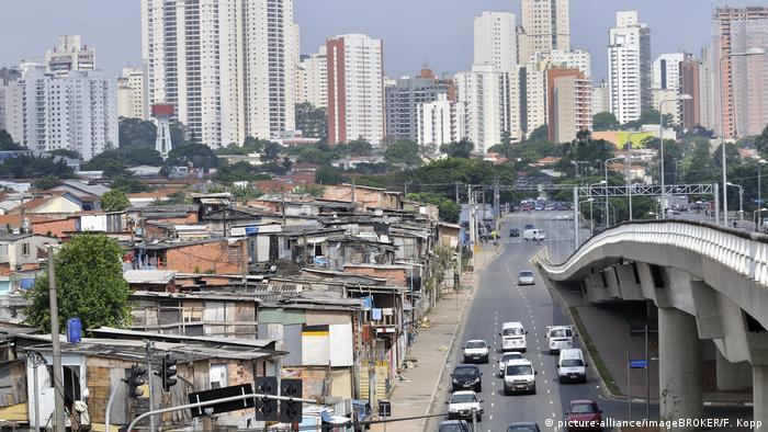 Paraisópolis, 'ciudad paraíso', linda con el barrio en el que más caro es el metro cuadrado de todo Sao Paulo