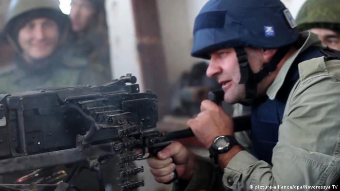 2014 року російський актор Михайло Пореченков стріляв із позиції проросійських сепаратистів у Донецьку