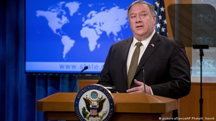 USA Mike Pompeo (picture-alliance/AP Photo/A. Harnik)