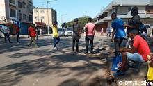 Mosambik Roter Stern Marktplatz in Maputo