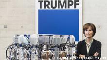 Deutschland Ditzingen - Nicola Leibinger-Kammüller Die Vorsitzende der Geschäftsführung der Trumpf Gruppe