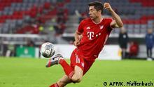 DFB Pokal   FC Bayern Muenchen v Eintracht Frankfurt