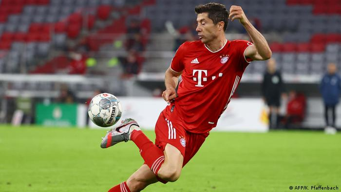 DFB Pokal | FC Bayern Muenchen v Eintracht Frankfurt (AFP/K. Pfaffenbach)
