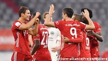 DFB Pokal Bayern Frankfurt Goretzka