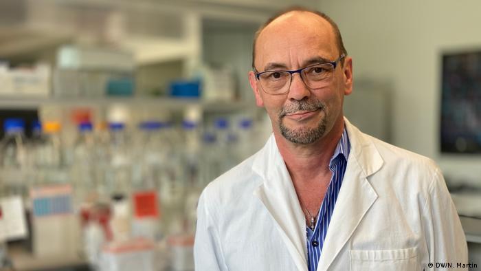 رجل الأعمال والباحث ميشائيل بيونتك مدير شركة Artes Biotechnology