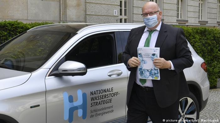 Pressekonferenz zur Wasserstoffstrategie Peter Altmaier