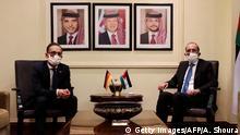 Jordanien Amman Außenminister Maas bei Ayman Safadi