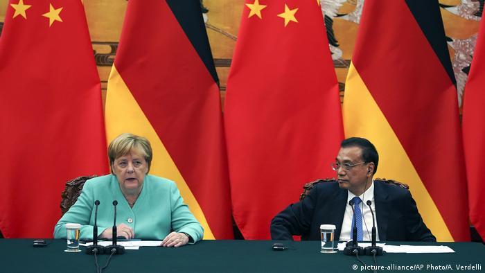 Angela Merkel und Li Keqiang Deutschland China